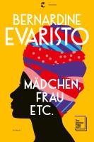 Bernardine Evaristo – Mädchen, Frau etc.